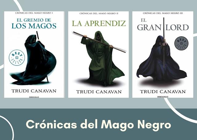 leer crónicas del mago negro