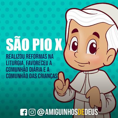 São Pio X desenho