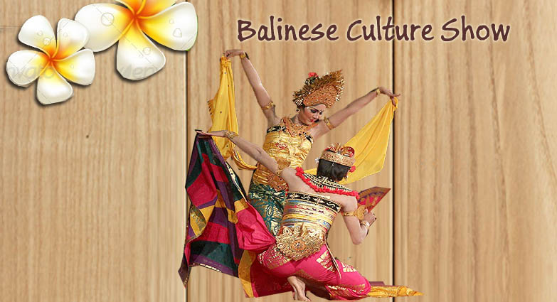 Balinese culture show & tours activity time schedule