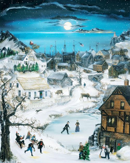 Immagini Invernali Natalizie.Il Mondo Di Mary Antony Will Moses Scene Invernali
