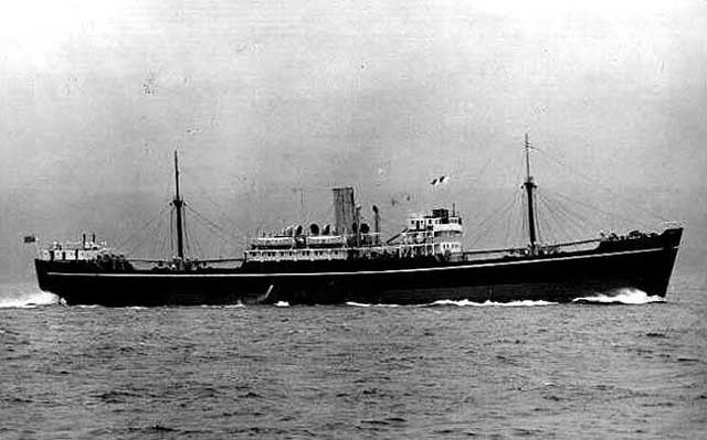 SS Subador, sunk by the Japanese on 13 February 194 worldwartwo.filminspector.com