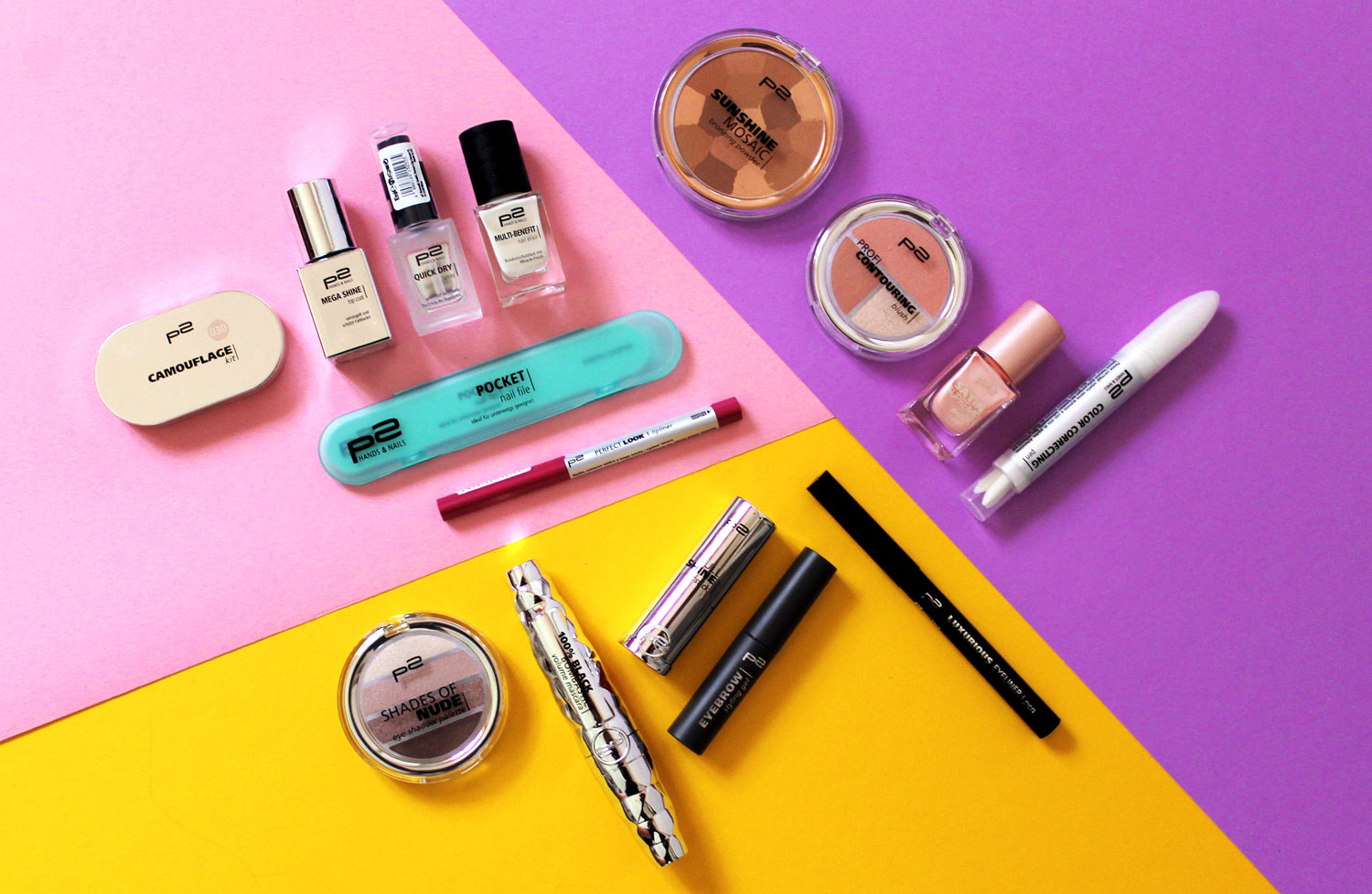 prodotti make up P2 cosmetics