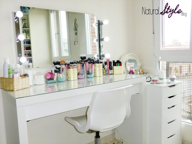 Naturalstyle mi tocador organizaci n de maquillaje 2013 - Espejo camerino ikea ...