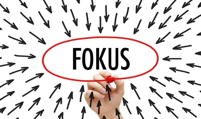 10 Tips Untuk Kekal Fokus.