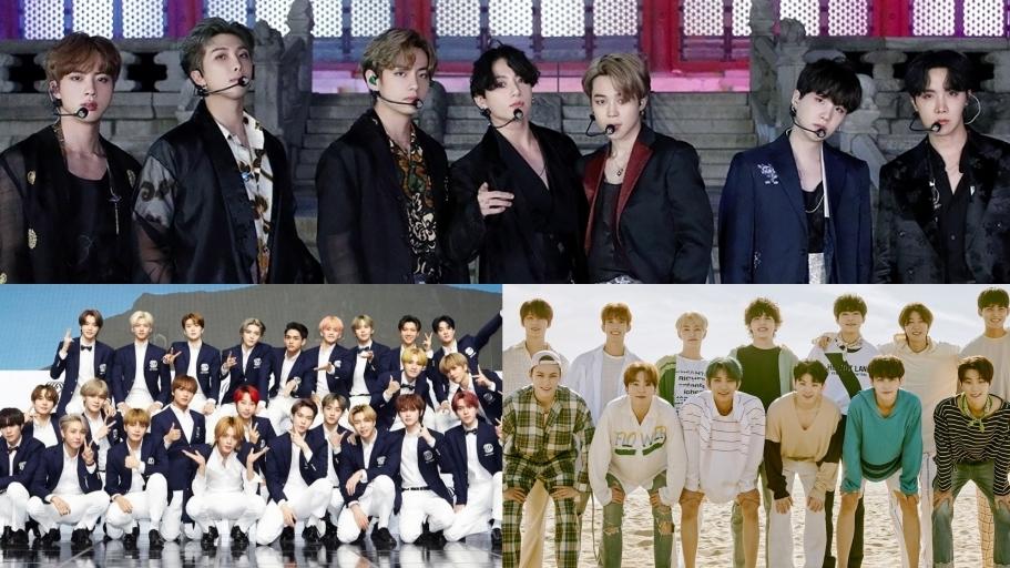The Most Popular K-Pop Boy Groups For October 2020