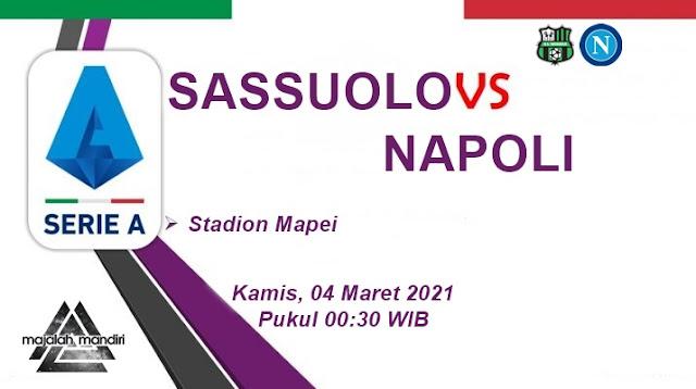 Prediksi Sassuolo Vs Napoli