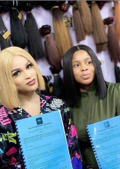 Nigerian Transgender, Alexander Buchi bags ambassadorial deal with hair care brand (Photos)