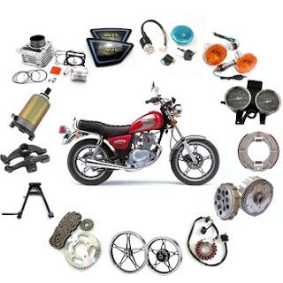 Suku Cadang Spare Part Aksesoris Sepeda Motor