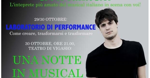 Flavio Gismondi alla Poliedricart: stage e musical concert