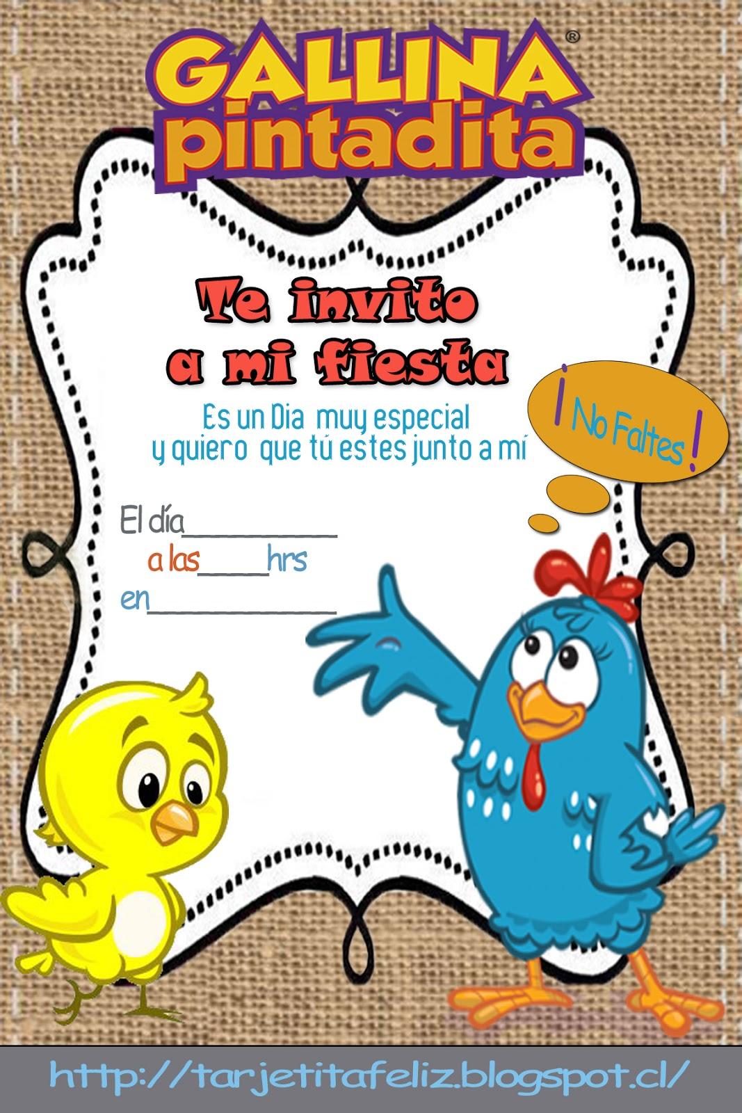 Dibujos Para Colorear De La Gallina Pintadita La Gallina Pintadita