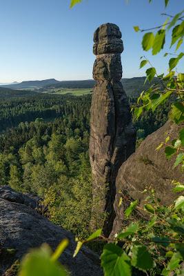 Malerweg Etappe 7 | Von Kurort Gohrisch bis Weißig | Wandern Sächsische Schweiz | Pfaffenstein – Festung Königstein 11