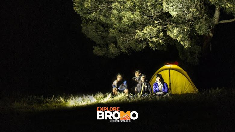 camping di bromo