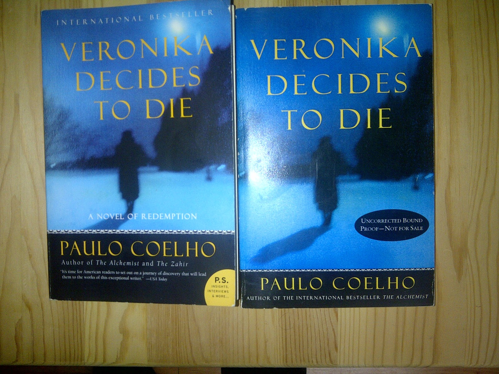 "#65 - ""Veronika Decides to Die"" by Paulo Coelho 
