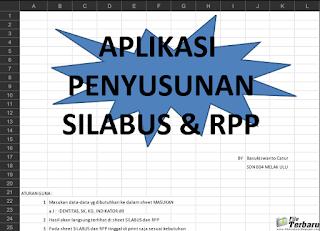 Silahkan bagi yang berminat anda dapat mendownloadnya di bawah artikel ini DOWNLOAD APLIKASI PEMBUATAN SILABUS + RPP