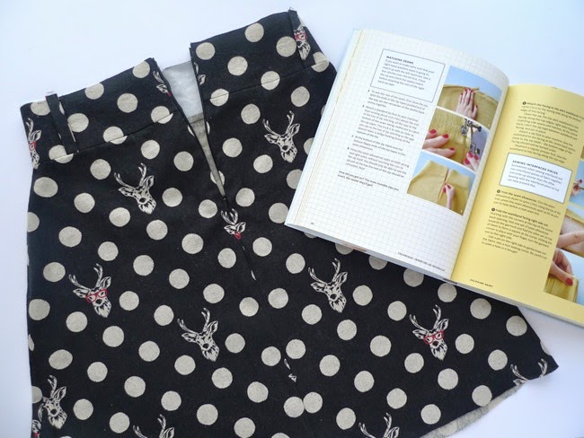Tilly and the Buttons: How to Sew a Skirt Lining