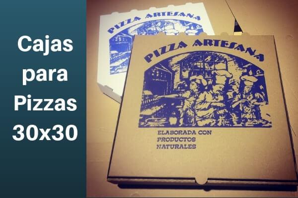 cajas personalizadas para pizzas 30x30