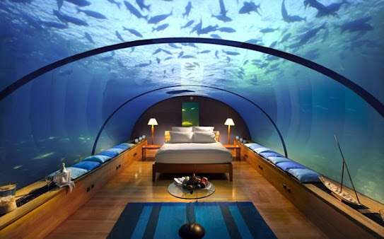 Experience Staying in a Stunning Underwater Hotel at The Water Discus