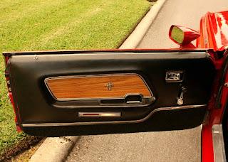 1969 Ford Mustang Boss 429 Door Interior