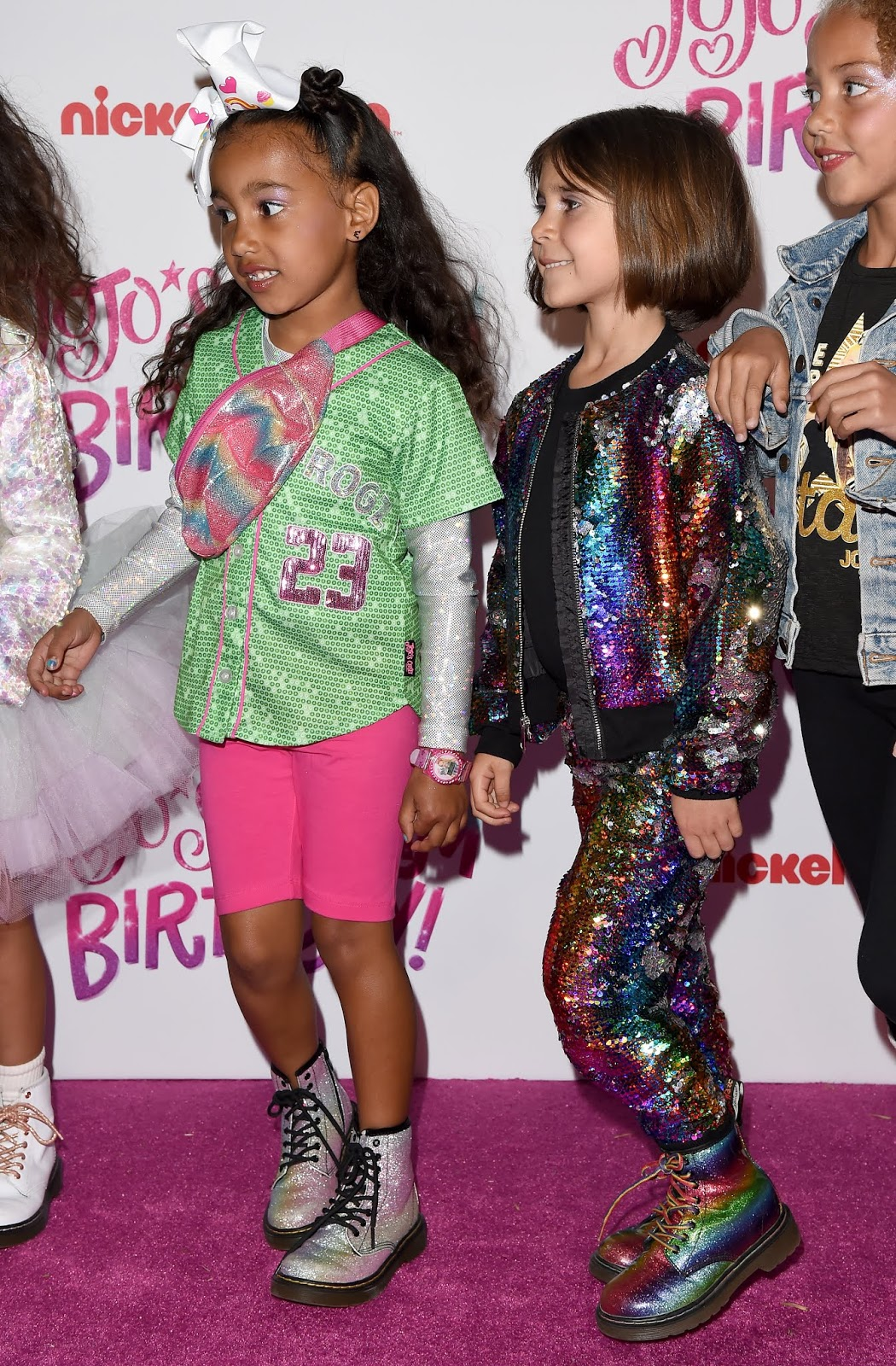 dadd949608c31c North West and Penelope Disick attend JoJo Siwa s Sweet 16 Birthday  celebration at W Hollywood on April 09