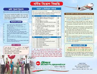 Biman bd Airlines Job circular
