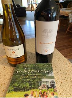 Bodega Norton Wine and book