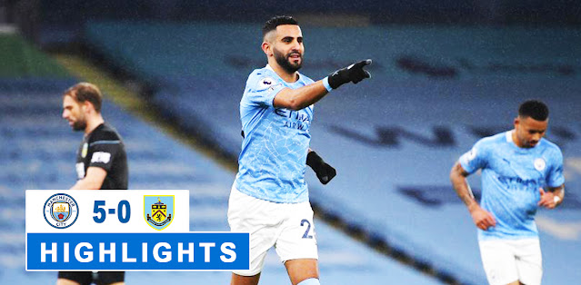 Manchester City vs Burnley – Highlights