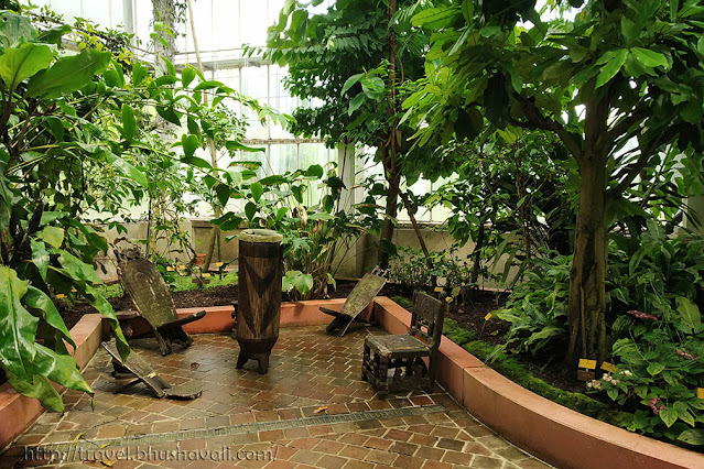 Climate Zones in Meise Botanic Garden