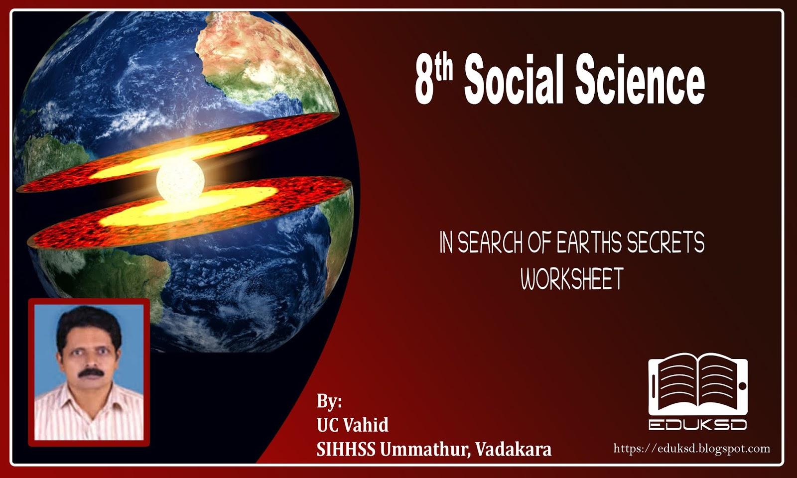 Standard Viii Social Science