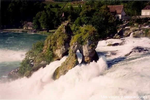 Cataratas del Rhin, Suiza