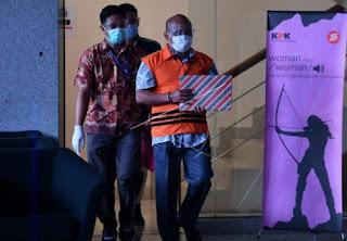 Kepala Bapenda Labura Ditahan KPK, Susul Bupati Buyung