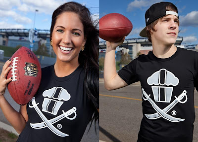 Johnny Cupcakes NFL Inspired T-Shirts - Oakland Raiders Cupcake & Crossbones T-Shirt