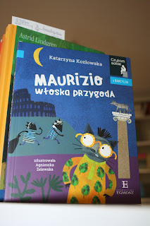 """""""Maurizio. Włoska przygoda"""" Katarzyna Kozłowska - recenzja"""