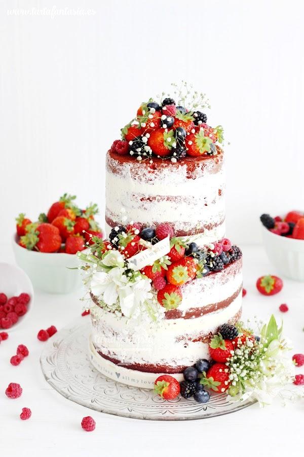 Cómo hacer un Naked Cake o tarta desnuda