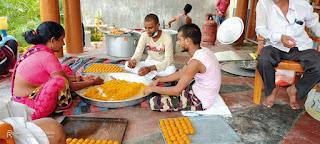 भगवान राम के लिए बना 201 किलो लड्डू, वितरित करेंगे शैलेश यदुवंशी | #NayaSaveraNetwork