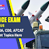 Defence Exam Syllabus: Know NDA, CDS, AFCAT Important Topics Here