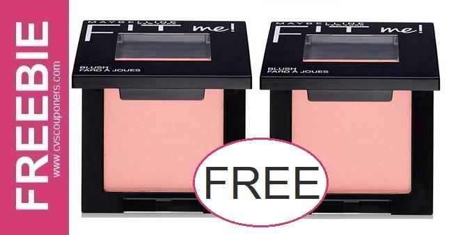 FREE Maybelline Fit Me Blush CVS Deal 2/7-2/13