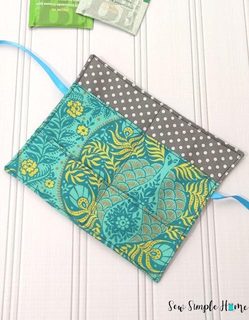 tea bag holder template