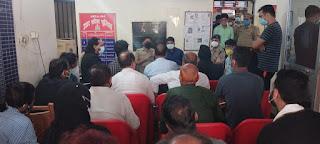 डीएम एसपी ने ताजियादारों के साथ की बैठक | #NayaSaberaNetwork
