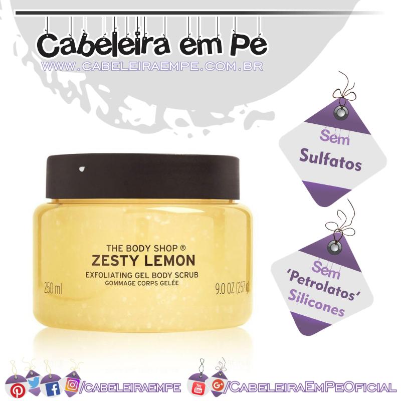 Esfoliante Corporal Limão - The Body Shop (Sem Sulfatos, Sem Petrolatos e Sem Silicones)