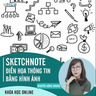Khóa Học Sketchnote - Diễn Họa Thông Tin Bằng Hình Ảnh ebook PDF-EPUB-AWZ3-PRC-MOBI