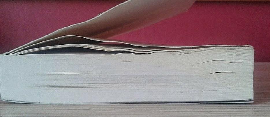 Poradnik: Jak wyprostować zamoczoną stronę książki?, Poradnik, Marzenie Literackie