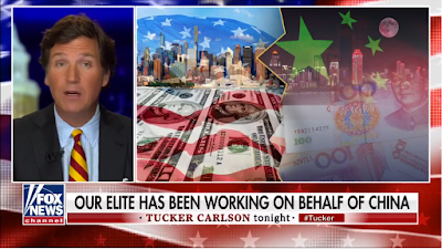 Tucker tells about China's control of the USA through traitors among us.