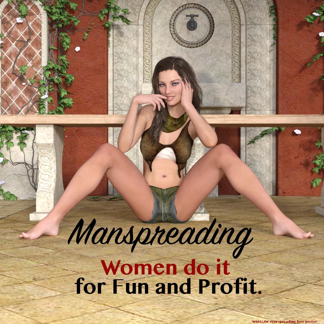 Women Spreading 5