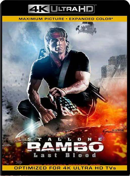 Rambo: Last Blood (2019) 4K 2160p UHD [HDR] Latino [GoogleDrive]