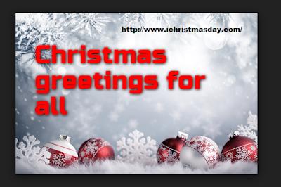 Christmas day greetings