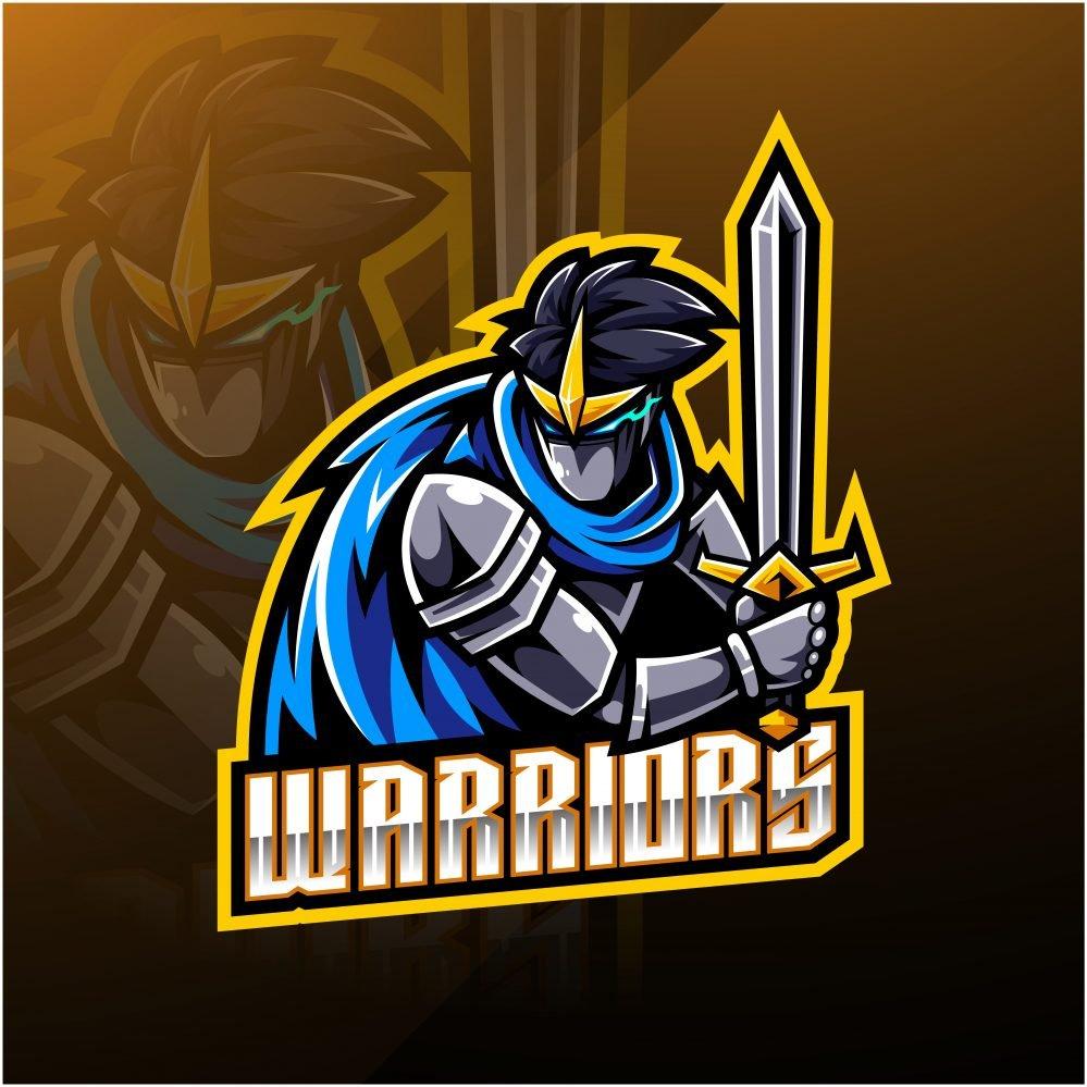 Warriors Esports Gaming Clan Mascot Logo