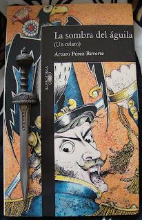 Portada del libro La sombra del águila, de Arturo Pérez-Reverte