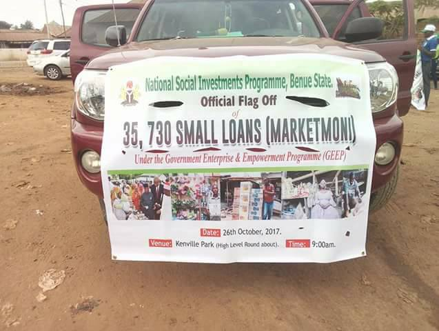 35,730 BENUE TRADERS TO BENEFIT FROM N1.5B GEEP FUNDS
