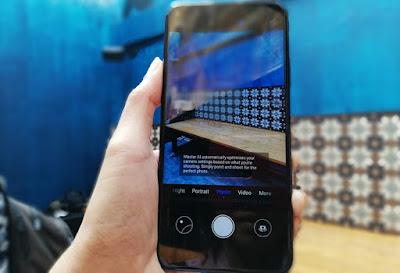 tampilan bidikan kamera pada Huawei nova 5T (www.teknogav.com)