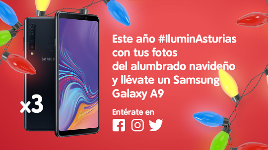Ilumina Asturias campaña Telecable